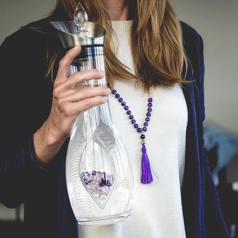 bodhi charms kit necklace mala decanter era wellness vitajuwel