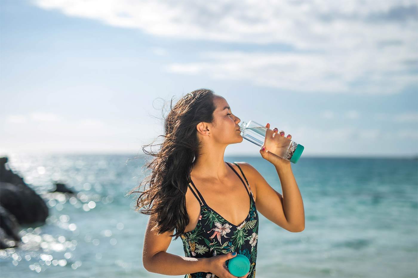 inu gem water bottle fresh water