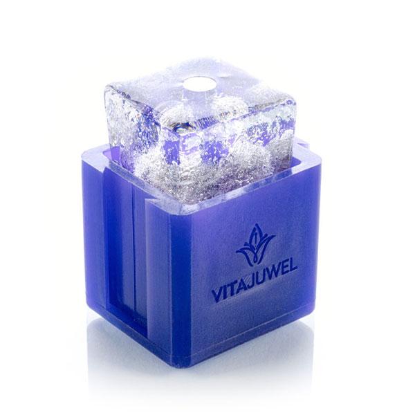 vitajuwel crystal eis cube eiswürfelform für strohhalm