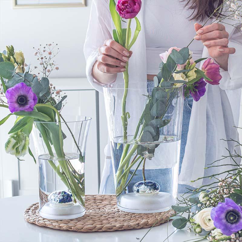 vitajuwel flower vasew two sizes