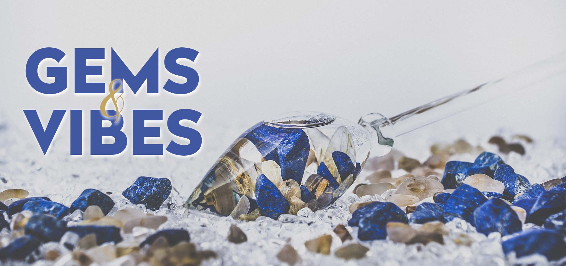 gems crystals water vibes