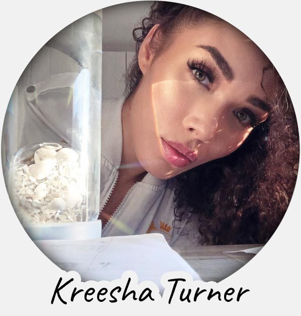 kreesha turner crystal water bottle
