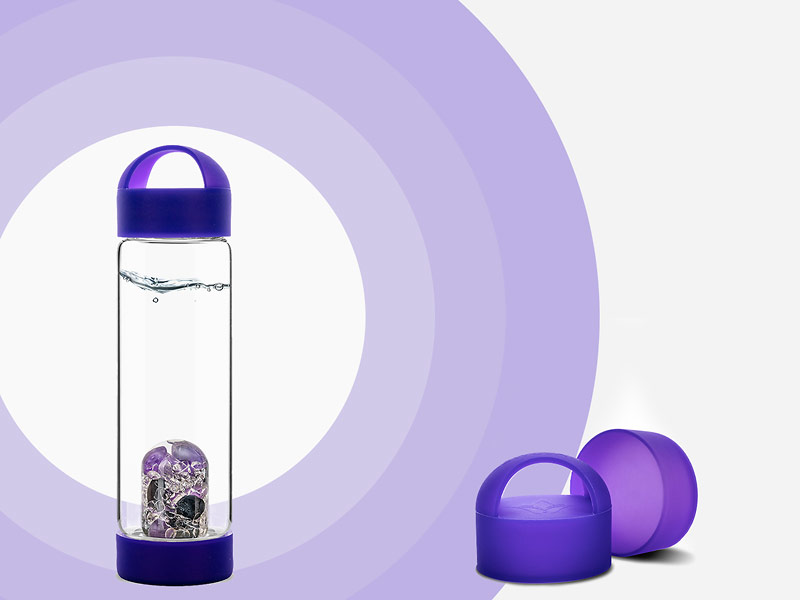 silicone handle for glass bottle