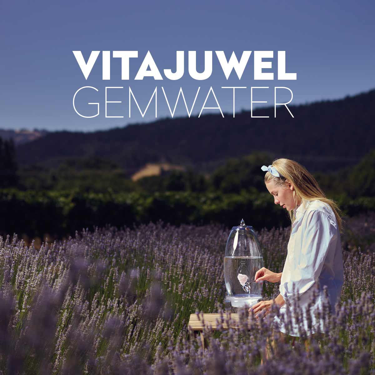 vitajuwel gem water crystal water dispenser
