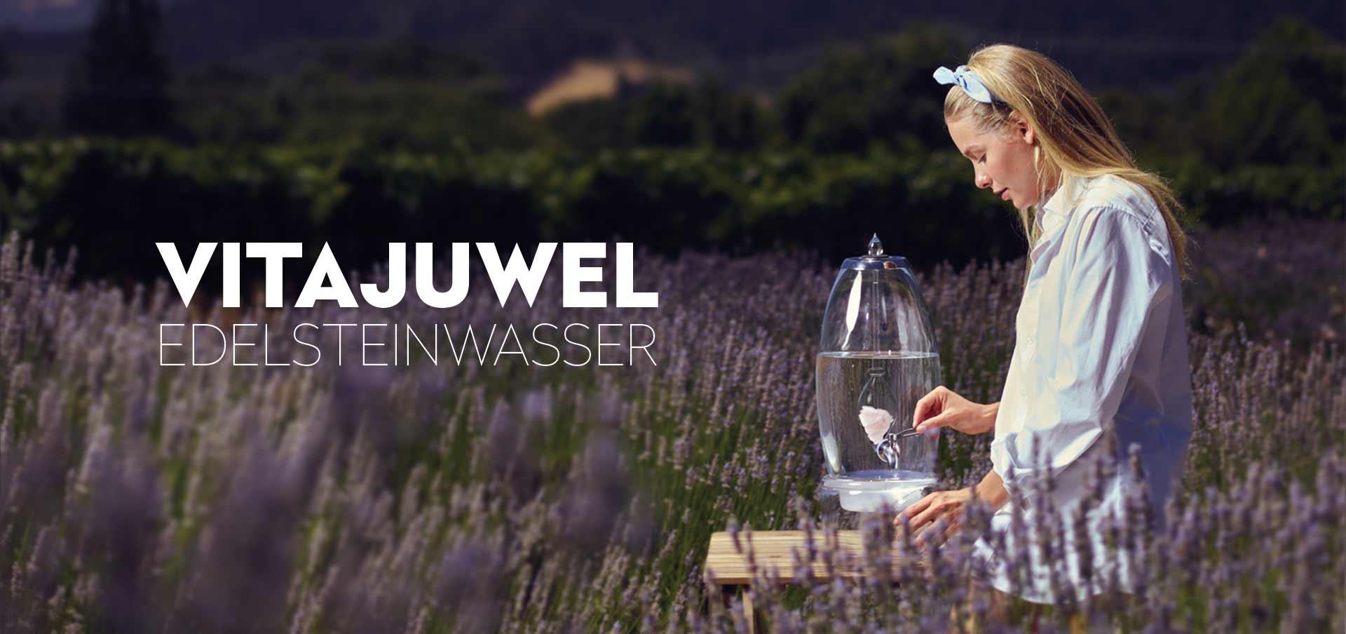 vitajuwel Edelsteinwasser frisch wie Quellwasser
