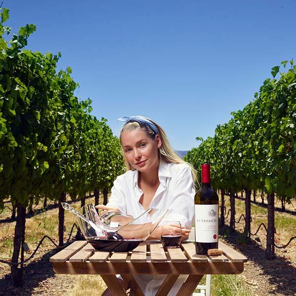 Weindekanter Edelsteine