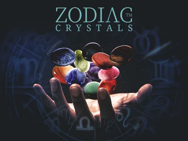 zodiac crystals star sign diy glass bottle astro stone